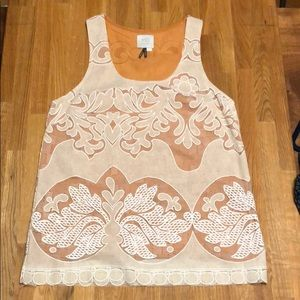 Anthropologie racer back tank size XS